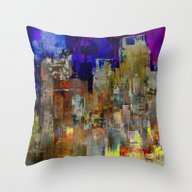 Let's Keep Smiling Throw Pillow