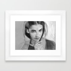 Charcoal Drawing No. 5 Framed Art Print