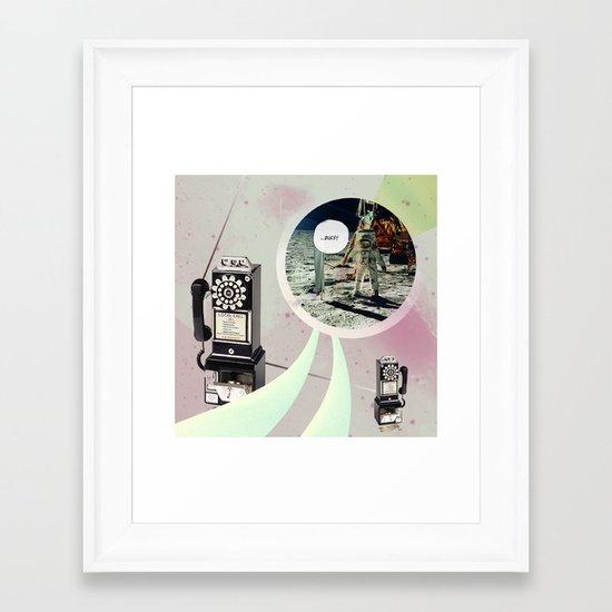 |NO SERVICE| Framed Art Print