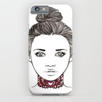 iPhone & iPod Case featuring Heart Tattoo by Lilyana Reyes