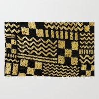 Gold Fuse Rug