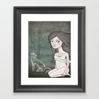 lili remix. Framed Art Print