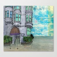 San Fran Corner Canvas Print