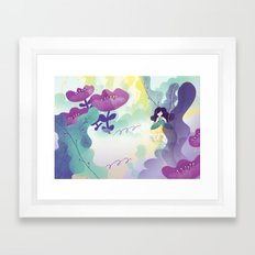 Thumbelina Framed Art Print