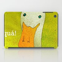 White Duck! iPad Case