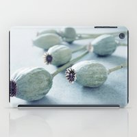 Poppy seed capsule iPad Case