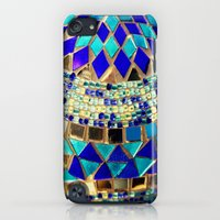 iPod Touch Cases featuring mosaic and beads [photograph] by Sylvia Cook Photography