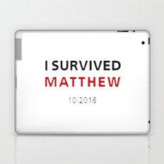 I survived Matthew Laptop & iPad Skin