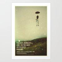 Parachute Journalists - … Art Print