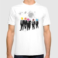 Reservoir Ghosts Mens Fitted Tee White SMALL