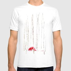 There's nowhere to run Mens Fitted Tee White SMALL