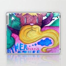 Mother purple nature Laptop & iPad Skin