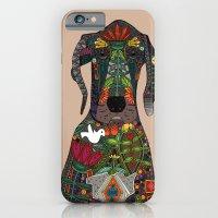 Great Dane Love Beige iPhone 6 Slim Case