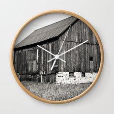 Rustic Rural Wall Clock