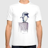 Daily Doodle - Linux2 Mens Fitted Tee White SMALL