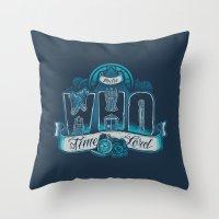 Infinite Who Throw Pillow