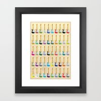 Guitar Framed Art Print