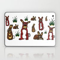 Stressed Rabbits on Acid Laptop & iPad Skin