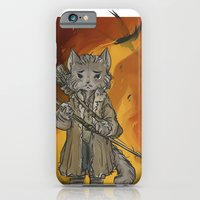 iPhone Cases featuring Hobbit - Bard the Bowcat by BlacksSideshow