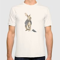 The Disguise: A Rabbit Mens Fitted Tee Natural SMALL