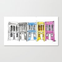George Town, Penang Canvas Print