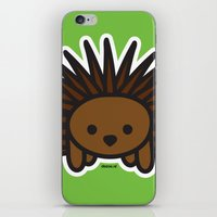 Cute Hedgehog iPhone & iPod Skin