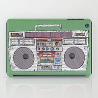 paper jams iPad Case