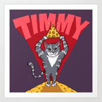 Timmy for Thommy Art Print