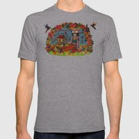 Hideaway Love Mens Fitted Tee Athletic Grey SMALL