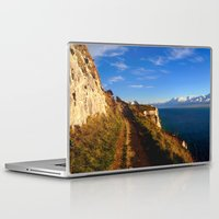 Laptop & iPad Skin featuring Cliff's Edge Dover  by Serenity Photography