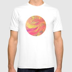 untitled SMALL Mens Fitted Tee White