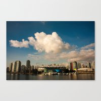 Puff Canvas Print