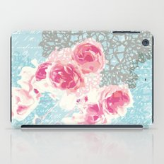 Roses and lace iPad Case