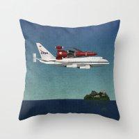 Thunderbird Carrier Throw Pillow