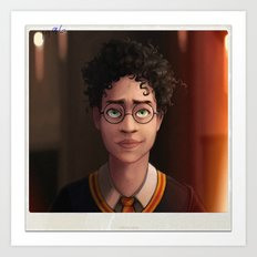 The Boy Who Lived Art Print