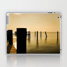 The Sunlit Dock Laptop & iPad Skin