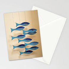 Fish on the Line Stationery Cards