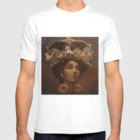 Brass Ring Dream Mens Fitted Tee White SMALL