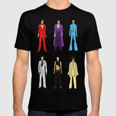 Outfits of Prince Fashion on White Mens Fitted Tee SMALL Black