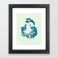 Octopus Rex 02 Framed Art Print