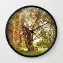 Fairy Tree Wall Clock