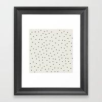 Stracciatella Framed Art Print