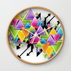 Vector Funk!  Wall Clock