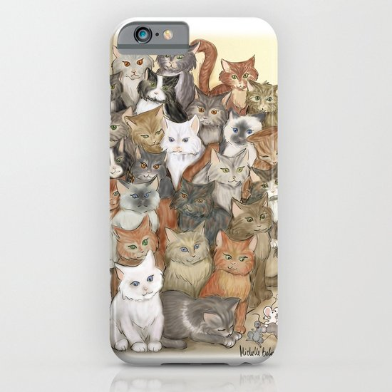 1000 cats iPhone & iPod Case