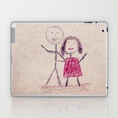 CRAYON LOVE: Boy meets Girl Laptop & iPad Skin