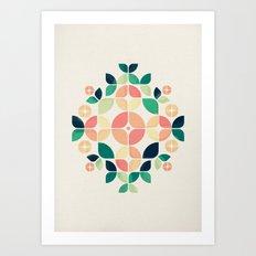 The Bouquet Art Print
