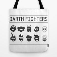 Darth Fighters Tote Bag