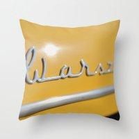 Warszawa Throw Pillow