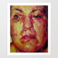 Face Art Print