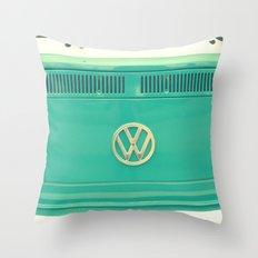 Groovy VW Throw Pillow